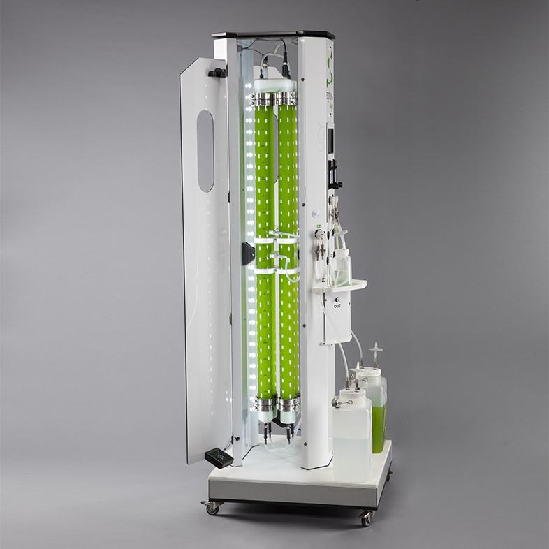 photobioréacteur pour inoculum, laboratoires, centres de recherche