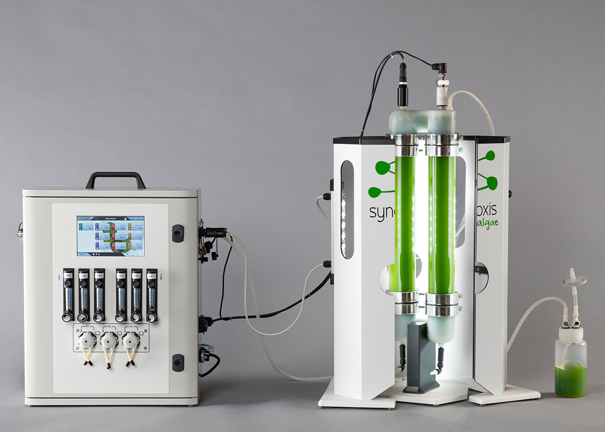NANO, photobioreactor for research and development centers