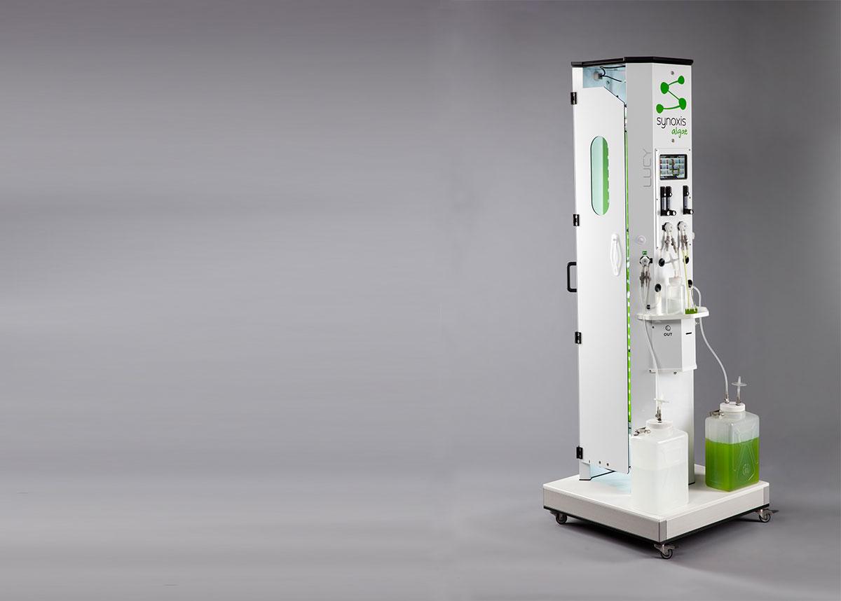 Photobioréacteur pour produire de l'inoculum