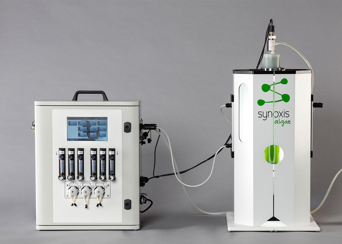 photobioréacteur pour les laboratoires