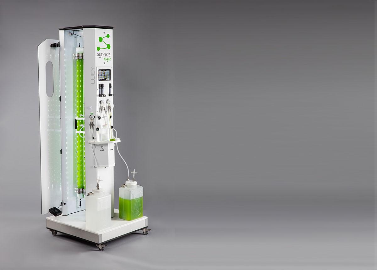 Un photobioréacteur facile d'utilisation