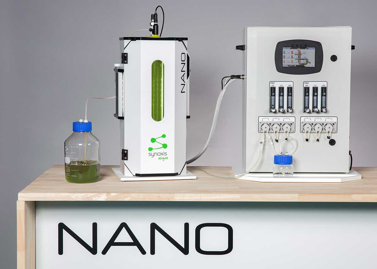 photobioréacteur pour la culture de micro-algues en laboratoire ou centre de recherche