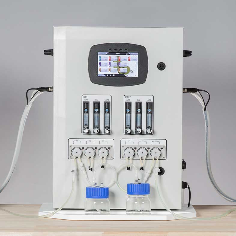 Système de contrôle Synoxis Algae pour la production de macroalgues et de microalgues