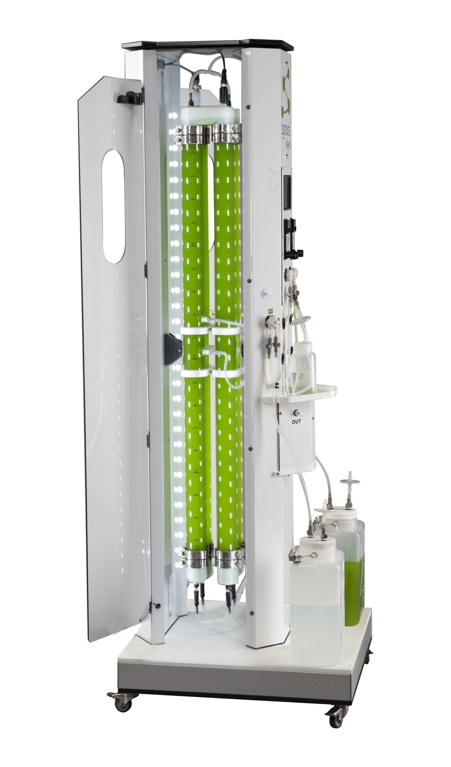 LUCY v2 photobioreacteur ergonomique