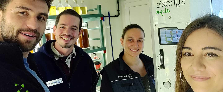 Interview utilisateur : Marinove et l'acquisition d'un photobioréacteur pour nourrir les naissains